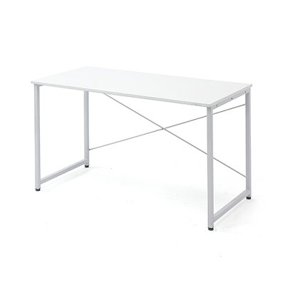 シンプルワークデスク オフィスデスク  幅 奥行  シンプルなホワイト天板  100-deskf004 の写真