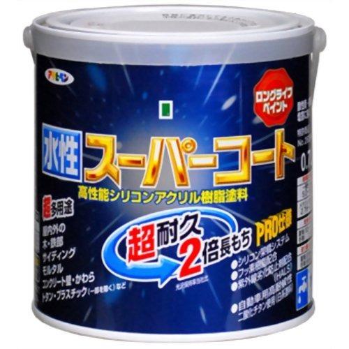 アサヒペン 水性スーパーコート カーキー(1.6L)