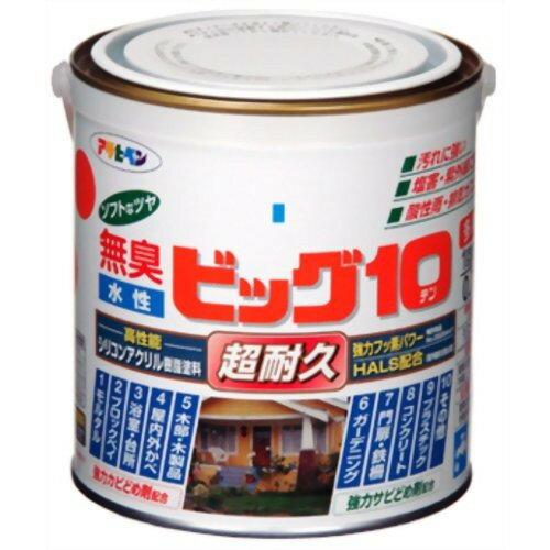 アサヒペン 無臭 水性ビッグ10 水色(0.7L)