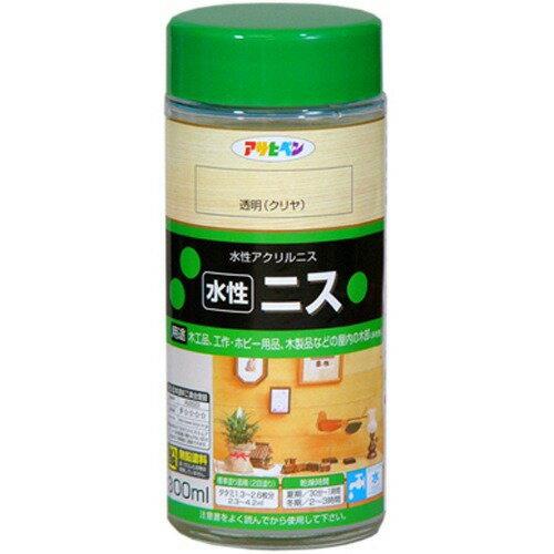 アサヒペン 水性ニス 透明(クリヤ)(300mL)
