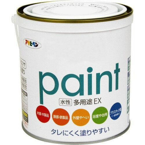 アサヒペン 水性多用途EX シロ(0.7L)の写真