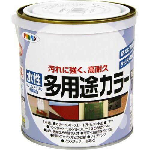 アサヒペン 水性多用途カラー ツヤケシシロ(0.7L)