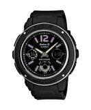 カシオ ベビーG 逆輸入海外モデル レディースデジタル腕時計 ブラックダイアル ブラックウレタンベルト BGA-150-1BDR