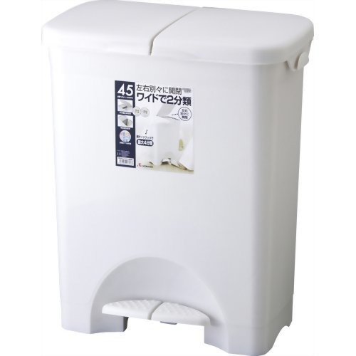 HOME&HOME 分類ペタルペール45PW グレー 44L(1コ入)