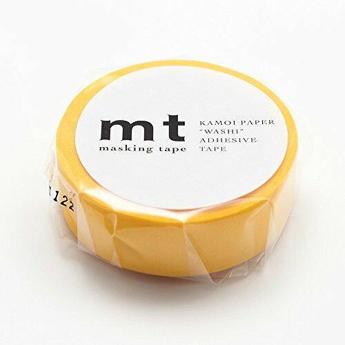 カモ井加工紙 mt マスキングテープ MT01D184 イエロー