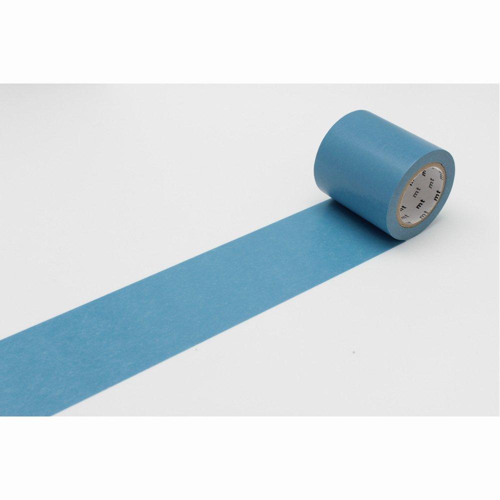 (単色1巻50mm幅×10m)マスキングテープ(mt CASA)浅縹(あさはなだ)MTCA5056 無地 カモ井加工紙 カモイ マステ ベーシック 縹色