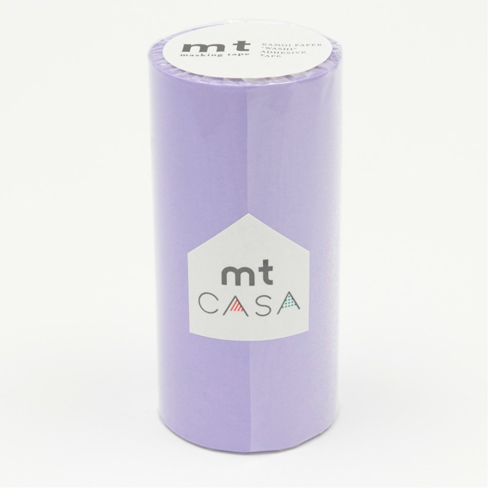 カモ井加工紙 マスキングテープ mt CASA 100mm ラベンダー メーカー品番 MTCA1046