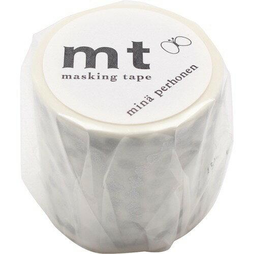 カモ井 mt マスキングテープ mt ミナペルホネン tambourine grande・silver MTMINA31(1個)の写真