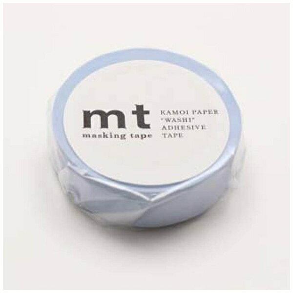 カモ井加工紙 mtマスキングテープ 1P パステルブルー MT01P306