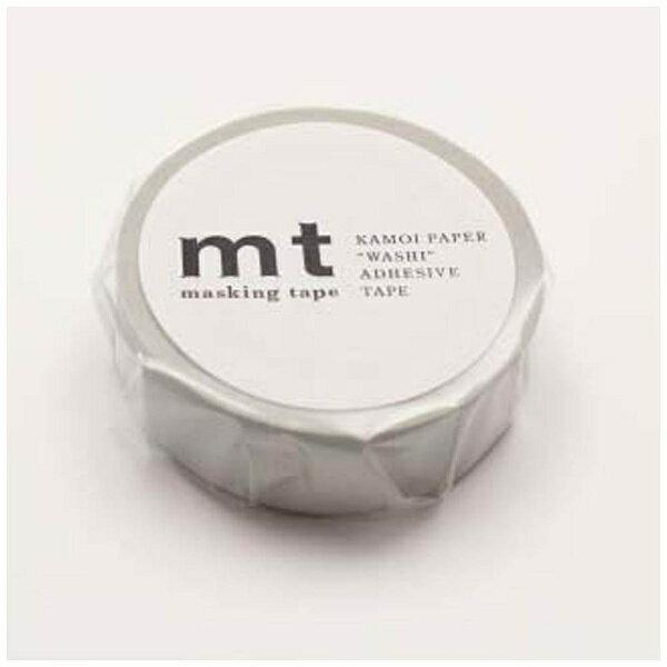 カモ井加工紙 mtマスキングテープ 1P パステルグレー MT01P312