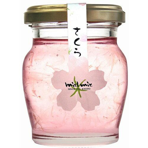 ミールミィ 桜花びら入り蜂蜜 110g
