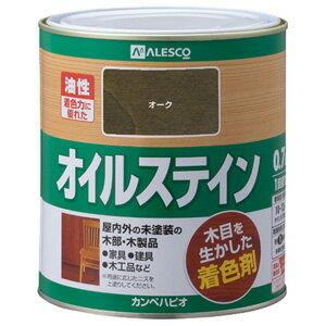 カンペハピオ 7801040.7 オイルステインA 0.7L オーク 6入