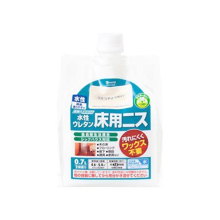 カンペハピオ 00717653601007 水性ウレタン床用ニス 3分つやとうめい 0.7L