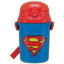 スーパーマン ストローボトル SST3H スケーター(D)(水筒・お弁当グッズ)画像