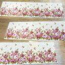 (SENKO(センコー) Kitchen Mat(キッチンマットシリーズ) ローラ キッチンマット 約45×180cm アイボリー・950344)