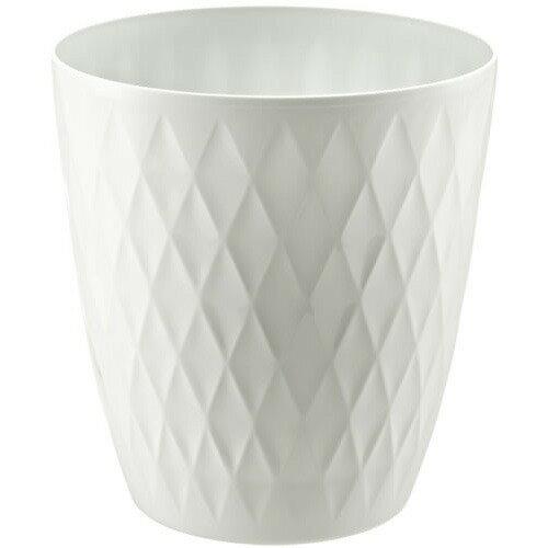 キンバリー 鉢カバー 10号 ホワイト(1コ入)