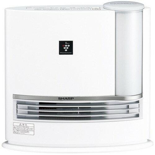 シャープ 加湿セラミックファンヒーター ホワイト系 HX-G120-W(1台)の写真