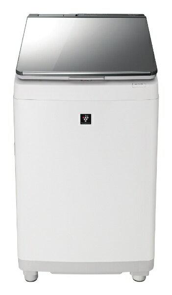 SHARP プラズマクラスター タテ型洗濯乾燥機 ES-PU11C-Sの写真