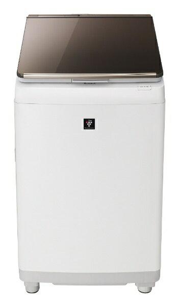 SHARP プラズマクラスター タテ型洗濯乾燥機 ES-PU10C-Tの写真