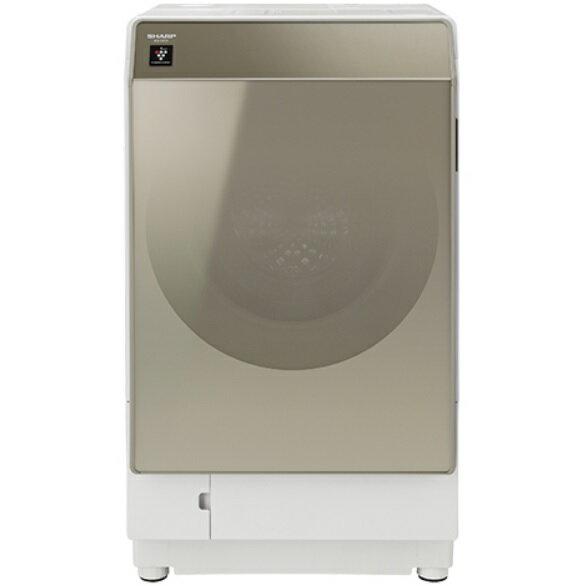 SHARP プラズマクラスター ドラム式洗濯乾燥機 ヒートポンプ ES-G111-NLの写真