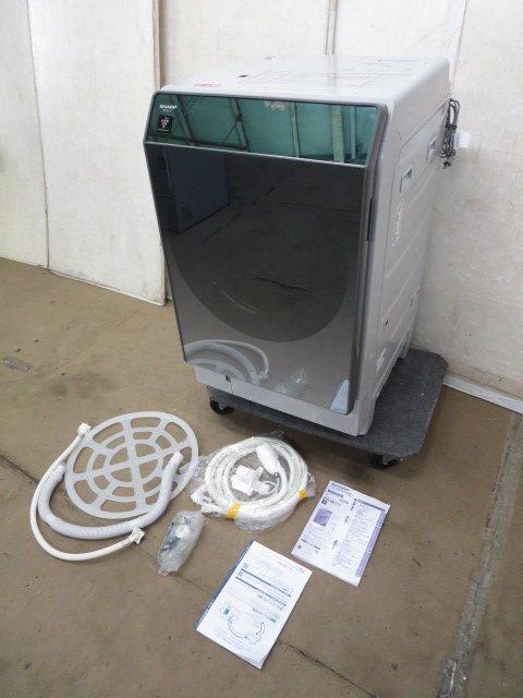 SHARP  プラズマクラスター洗濯乾燥機 ES-W111-SLの写真