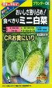 ニュールックハクサイ CRお黄にいり タキイ種苗野菜種1ml約190粒 タキイ種苗
