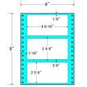 ナナフォーム ナナフォーム 連続ラベル Mタイプ 6×8インチ 3面 1000折 MM6E