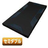東京西川 マットレス セミダブル AIR SI-H ブラック/ブルー