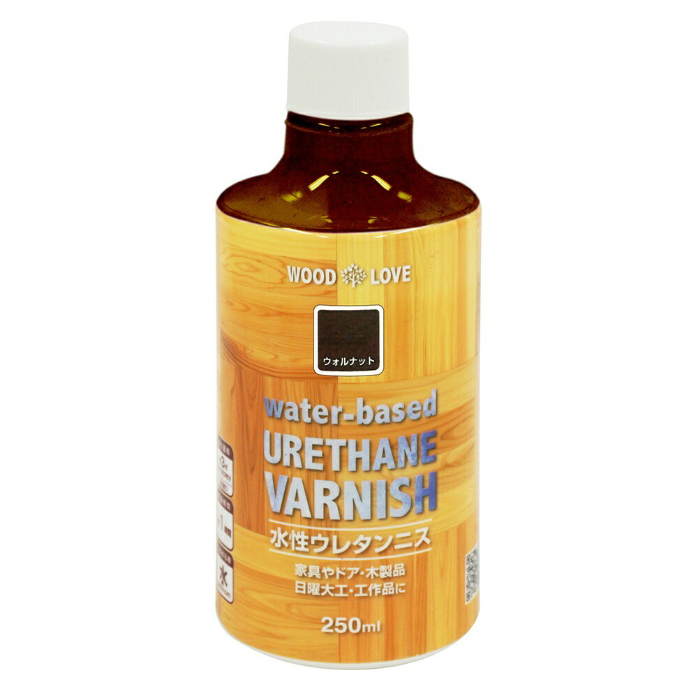ニッペホームプロダクツ WL水性ウレタンニス ウォルナット 250ML