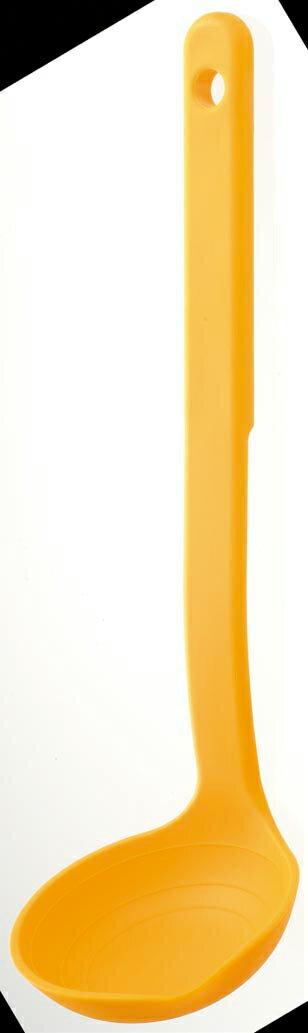 きれいにすくえる計量お玉 イエロー K148Y(1本入)の写真
