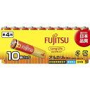 FUJITSU LongLife-単4 LR03FL(10S) 10個