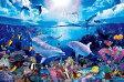 ジグソーパズル パズルの超達人 ラッセン・光るパズル デイ オブ ザ ドルフィンズ 2016ピース 23-711 エポック