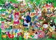 ジグソーパズル パズルの超達人 ホラグチカヨ 猫の王国は今日もにぎやか 1000VSピース 29-202 エポック