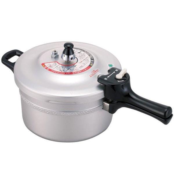 フッ素樹脂加工 圧力鍋/  フッ素樹脂に対して 圧力鍋に対して付の写真