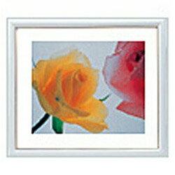 フジカラー 木製額縁 アートフレーム 6切 ホワイト(1コ入)の写真