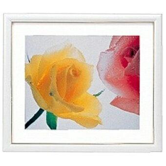 フジカラー 木製額縁 アートフレーム 全紙 ホワイト(1コ入)の写真