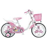 ブリヂストン18型 子供用自転車 ディズニープリンセス オーロラホワイト NPR18 NPR18