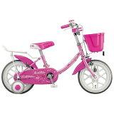 ブリヂストン 16型 幼児用自転車 エコキッズカラフル ピンク/シングルシフト EK16C5