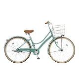 ブリヂストン 26型 自転車 エブリッジL E.Xモダングリーン/内装3段変速 EBL63T