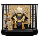 【五月人形】【ケース飾り】直江兼続障子八角ケース兜飾り(537851)