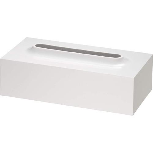 レットー ティッシュケース ホワイト(1コ入)の写真