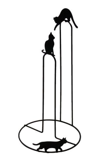 【Abeille】キッチンペーパースタンド ネコ (ペーパーホルダー・立て)