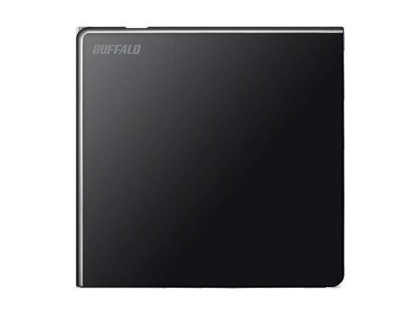 バッファロー Usb2.0用 ポータブルDvdドライブ(ブラック)(windowsmac両対応) Dvsm-pls8u2-bka