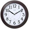 LANDEX ランデックス 壁掛け時計 こばち ステップ秒針 ダークブラウン YW9123DBR
