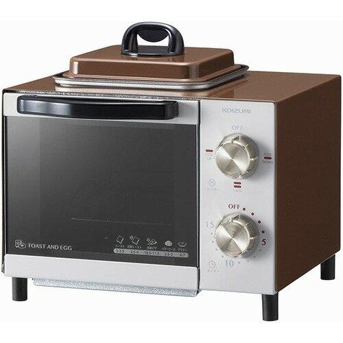 コイズミ オーブントースター ブラウン KOS-0703/T(1台)の写真