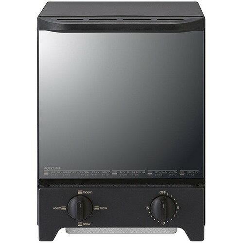 コイズミ オーブントースター ブラック KOS-1021/K(1台)の写真