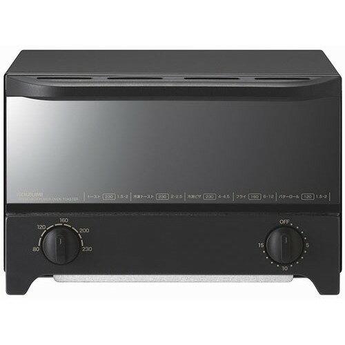 コイズミ オーブントースター ブラック KOS-1214/K(1台)の写真
