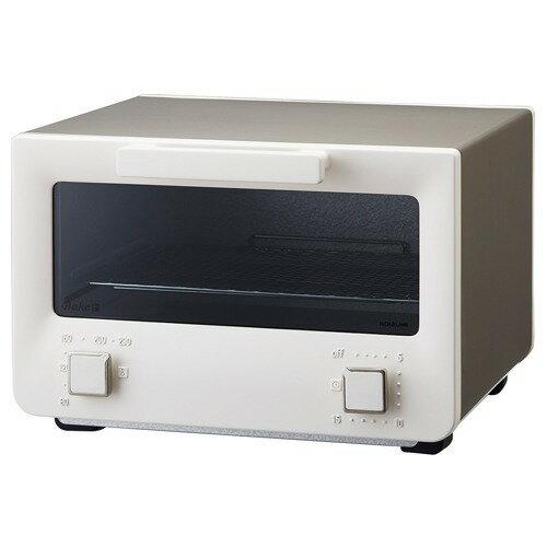 コイズミ オーブントースター ホワイト KOS-1213/W(1台)