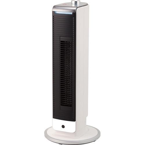 コイズミ 扇風機 タワーファン ホット&クール ミニ 送風 温風 1台2役 人感センサー 風量3段階 コンパクト ホワイト Khf-0893w