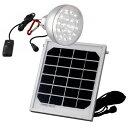 フカダック ソーラー充電LEDライト FS959